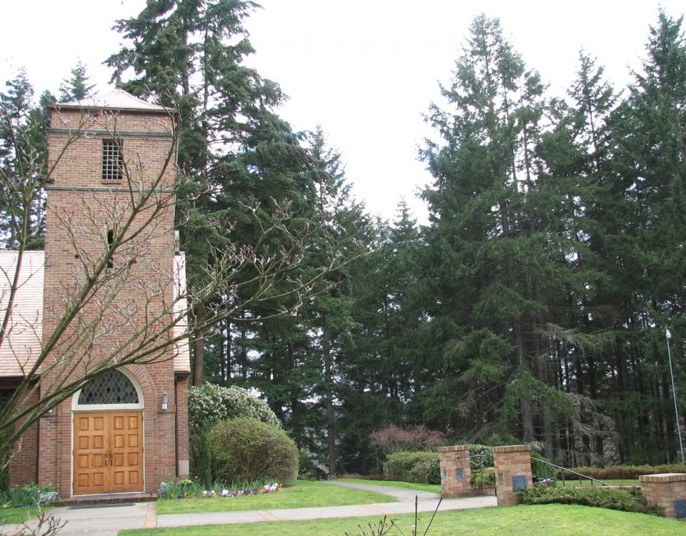 St Barnabas Church on Bainbridge Island by Jen Pells Real Estate Agent
