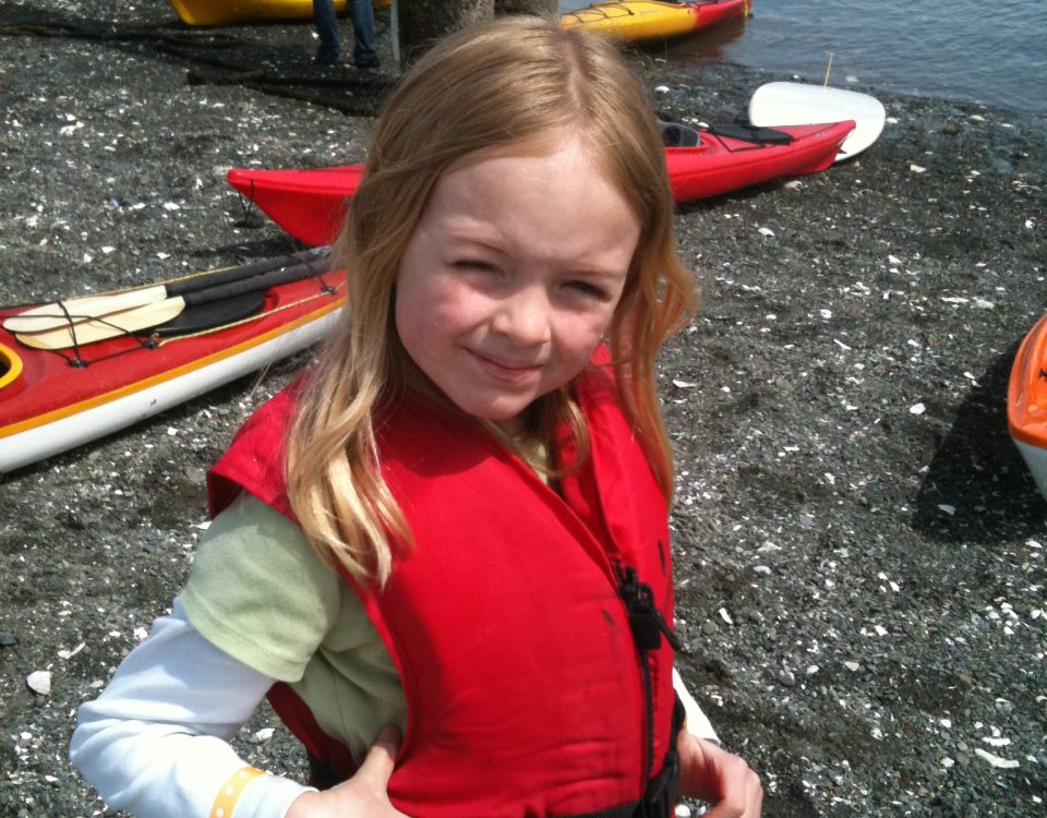 Kayaking on Bainbridge Island by Jen Pells Real Estate Agent