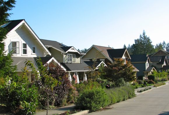 The North Towns Wood Neighborhood on Bainbridge Island.