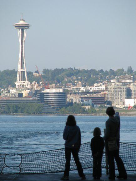The ferry from Bainbridge to Seattle by Jen Pells Real Estate Agent