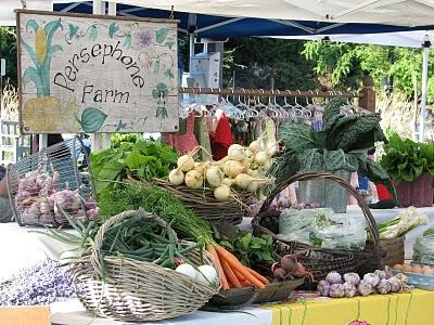 Farmer's Market on Bainbridge Island