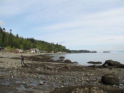 Rockaway Beach on Bainbridge Island