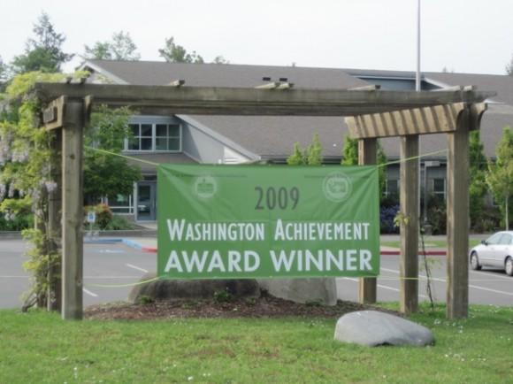 Sakai Intermediate School (5th-6th grade), 2009 Washington Achievement Award Winner