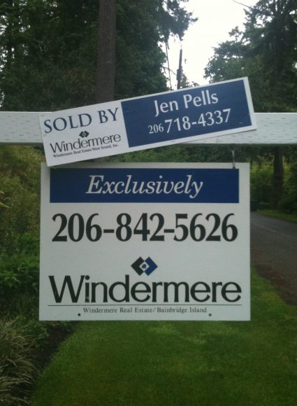 Sold by Jen Pells Bainbridge Agent