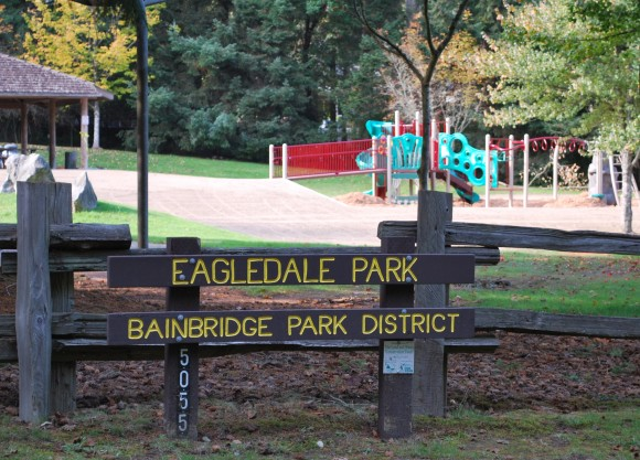 Eagledale Park on Bainbridge.