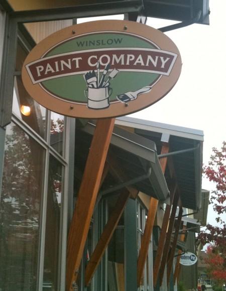 Winslow Paint Company on Bainbridge Island