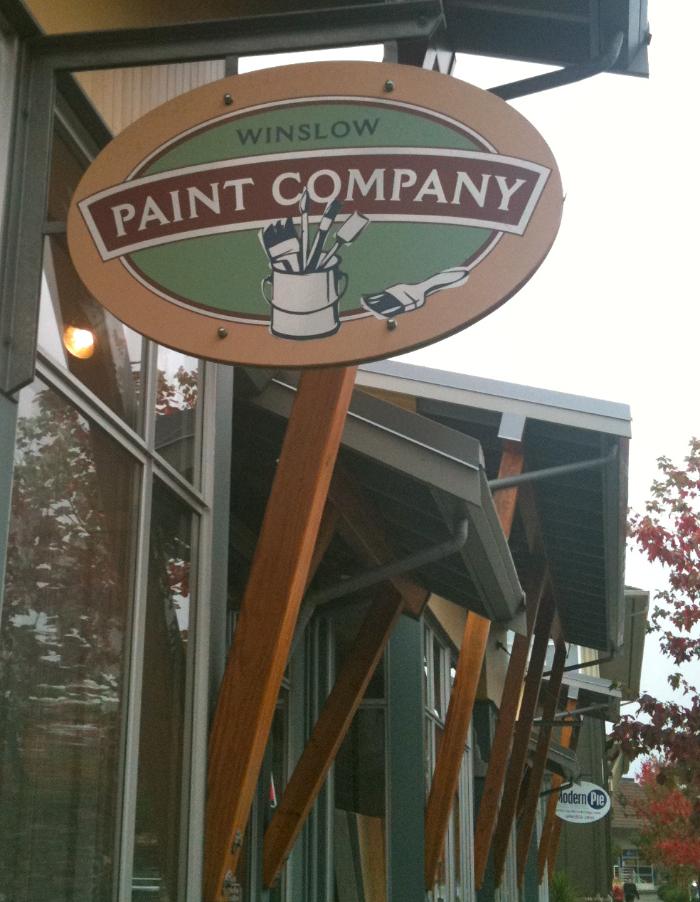 Winslow Paint Company on Bainbridge Island