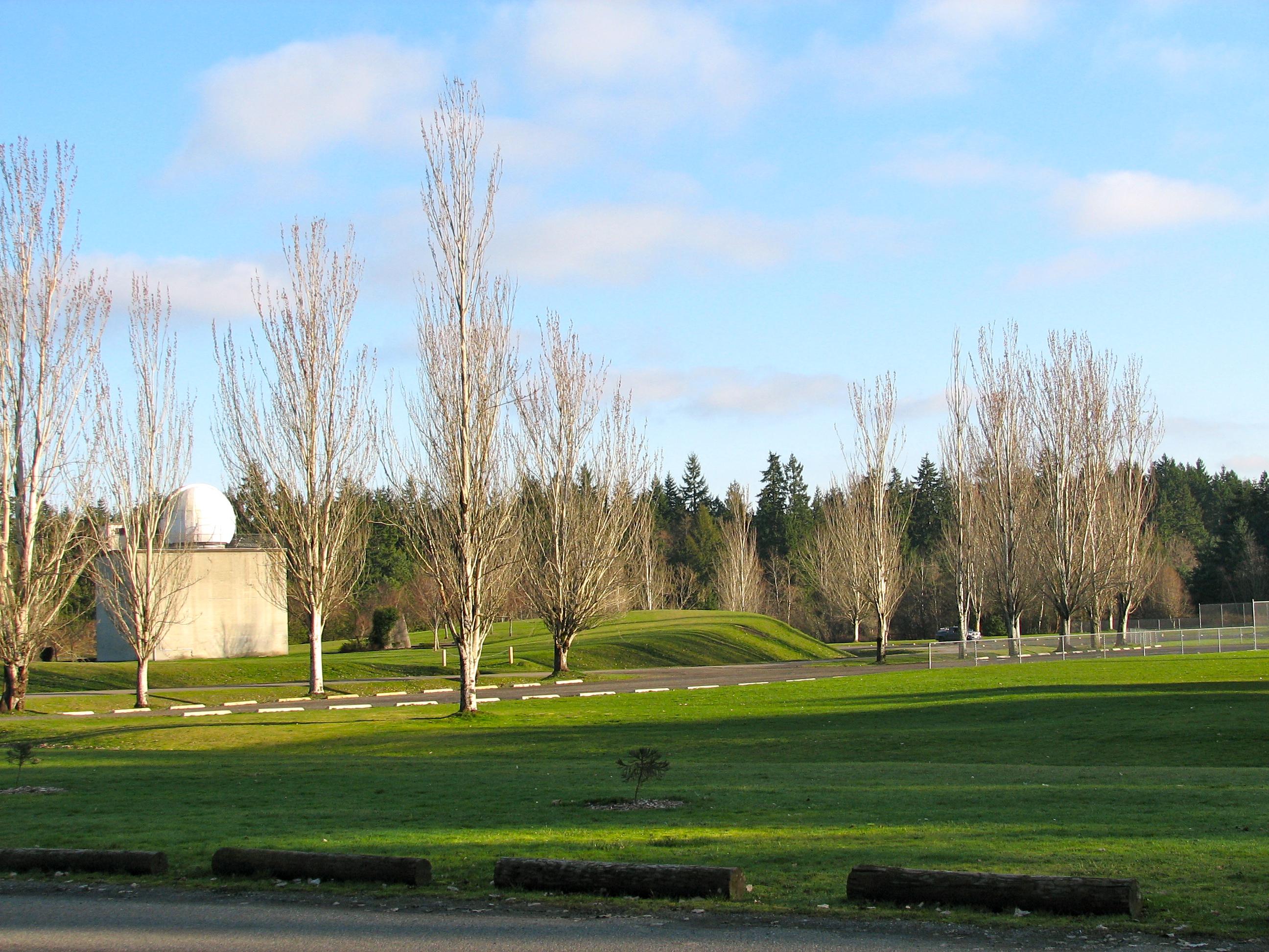The Ritchie Observatory at Battle Point Park on Bainbridge Island.