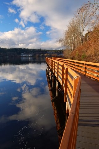 The Poulsbo Boardwalk.