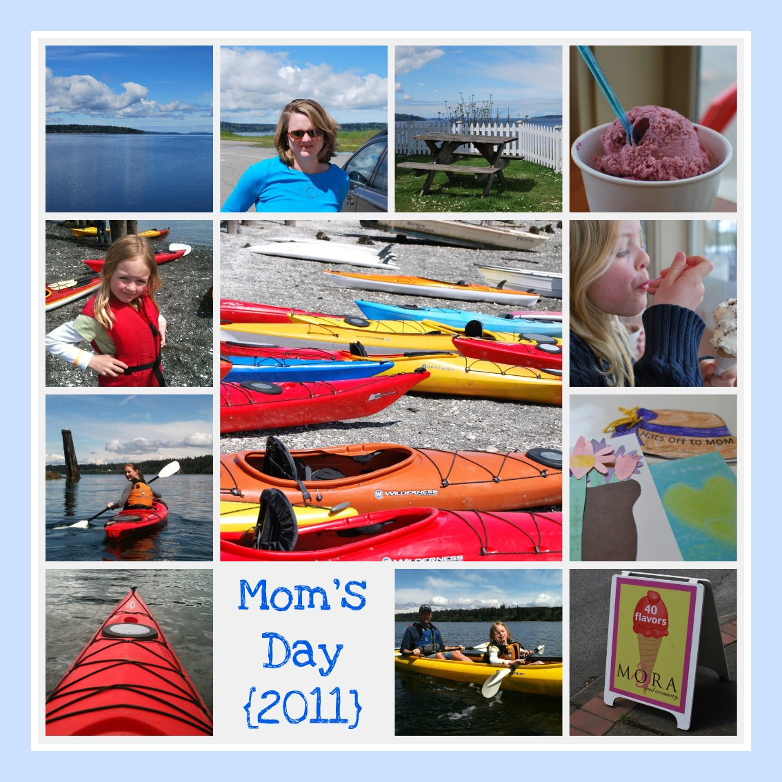 Mom's Day collage - Jen Pells