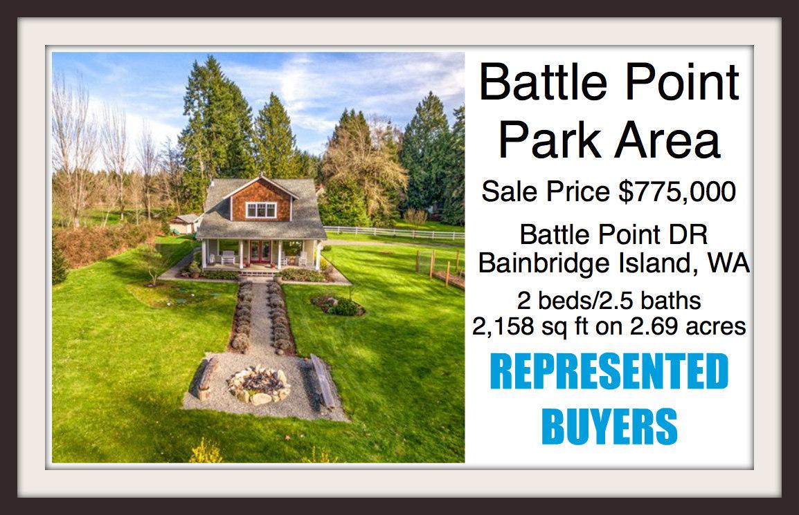 Battle Point Park home sold by broker Jen Pells of Windermere Bainbridge