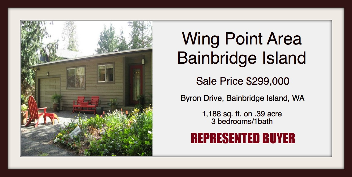 Sold by Jen Pells | Bainbridge Island Realtor