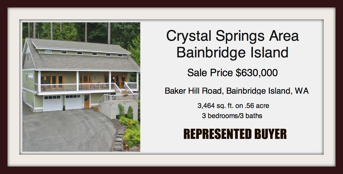 Baker Hill Road sold by Jen Pells