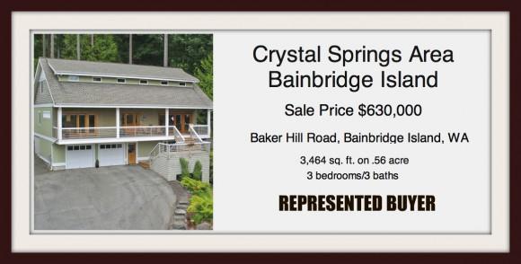 Baker Hill Road - sold by Jen Pells