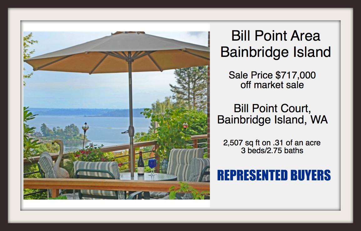 Bill Point Ct sold by Jen Pells Windermere Realtor