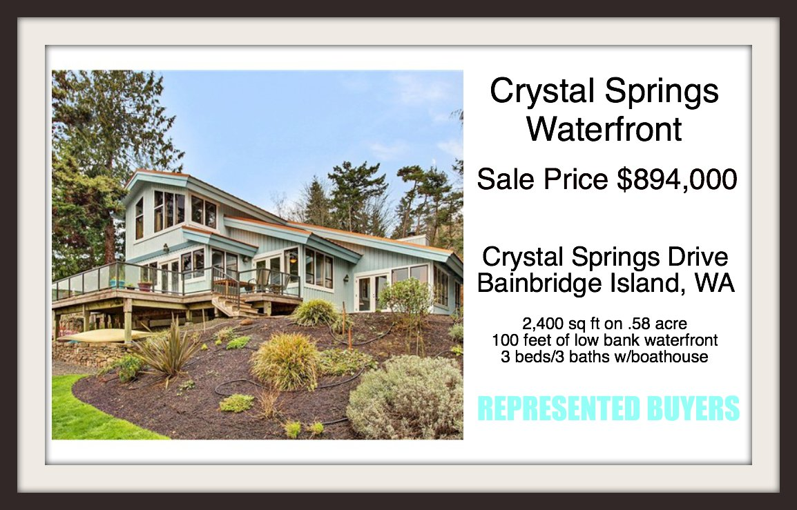 Crystal Springs Drive Sold By Jen Pells