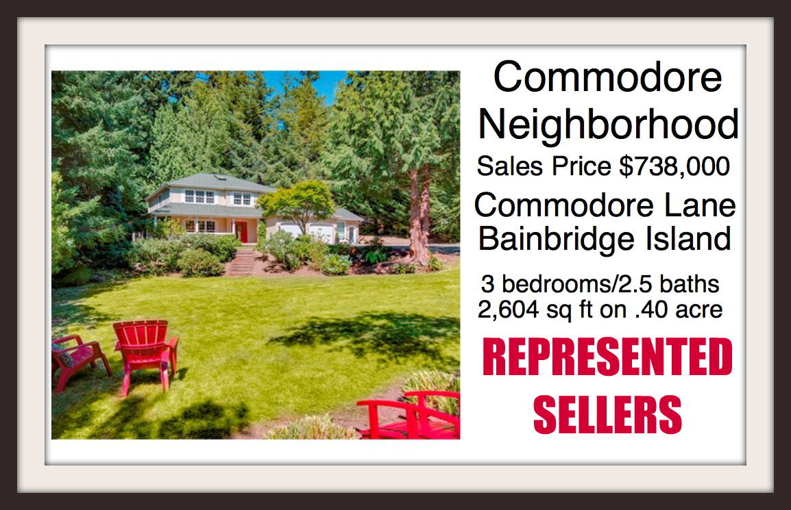 Commodore Lane on Bainbridge Island sold by Jen Pells Real Estate