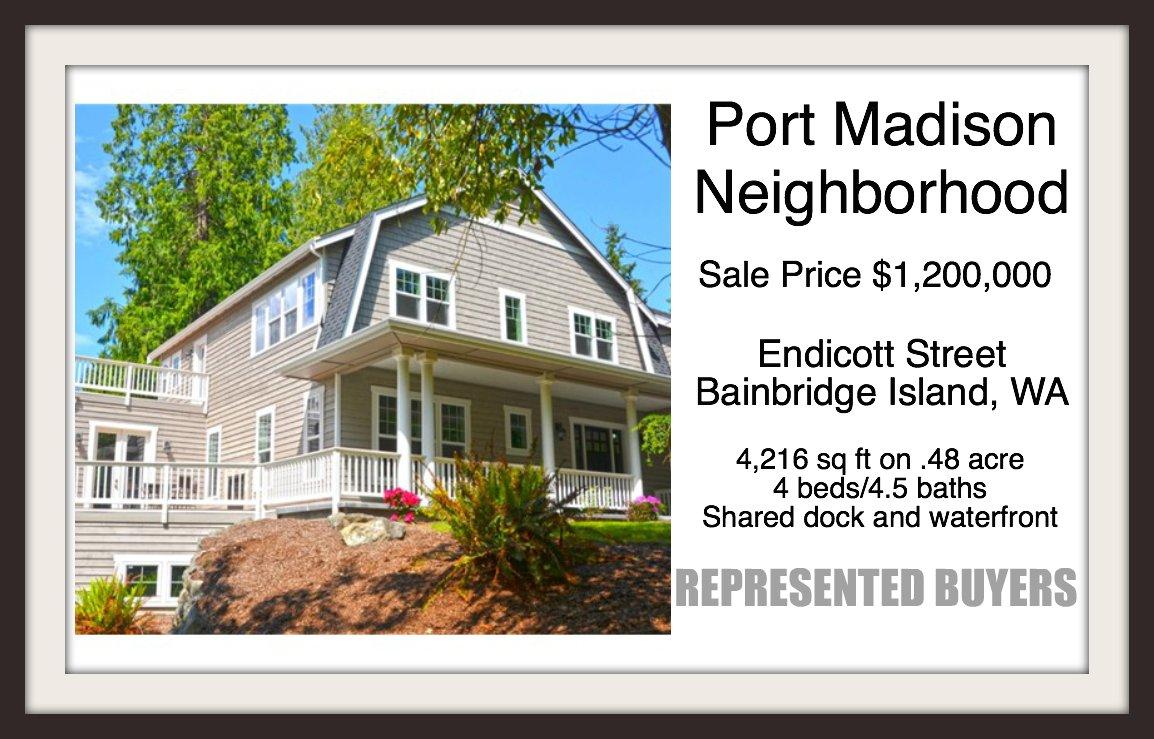 Endicott Street Sold by Jen Pells