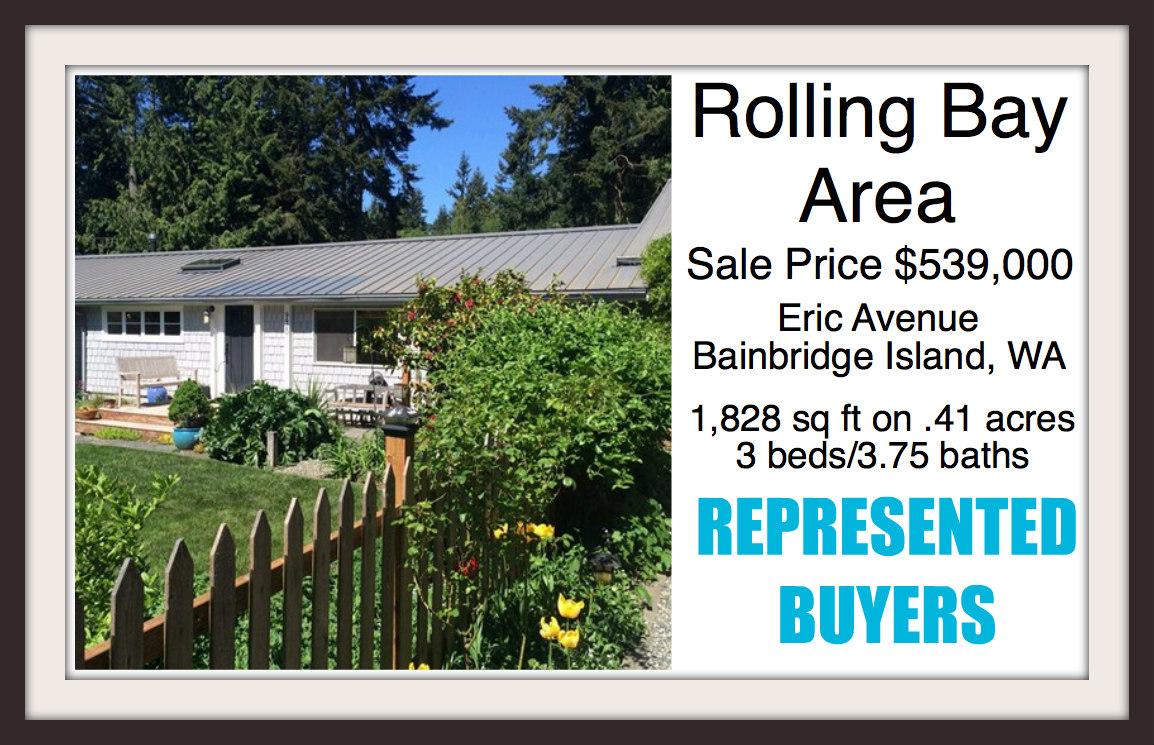 Eric Avenue home on Bainbridge Island sold by broker Jen Pells of Windermere Bainbridge