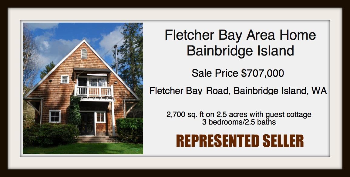 Fletcher Bay Sold by Jen Pells