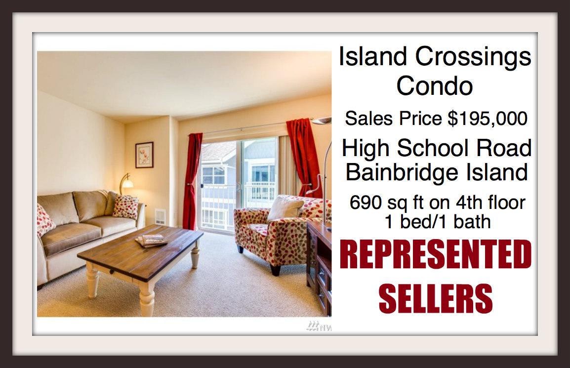 Island Crossings Condo on Bainbridge Island sold by Jen Pells of Windermere