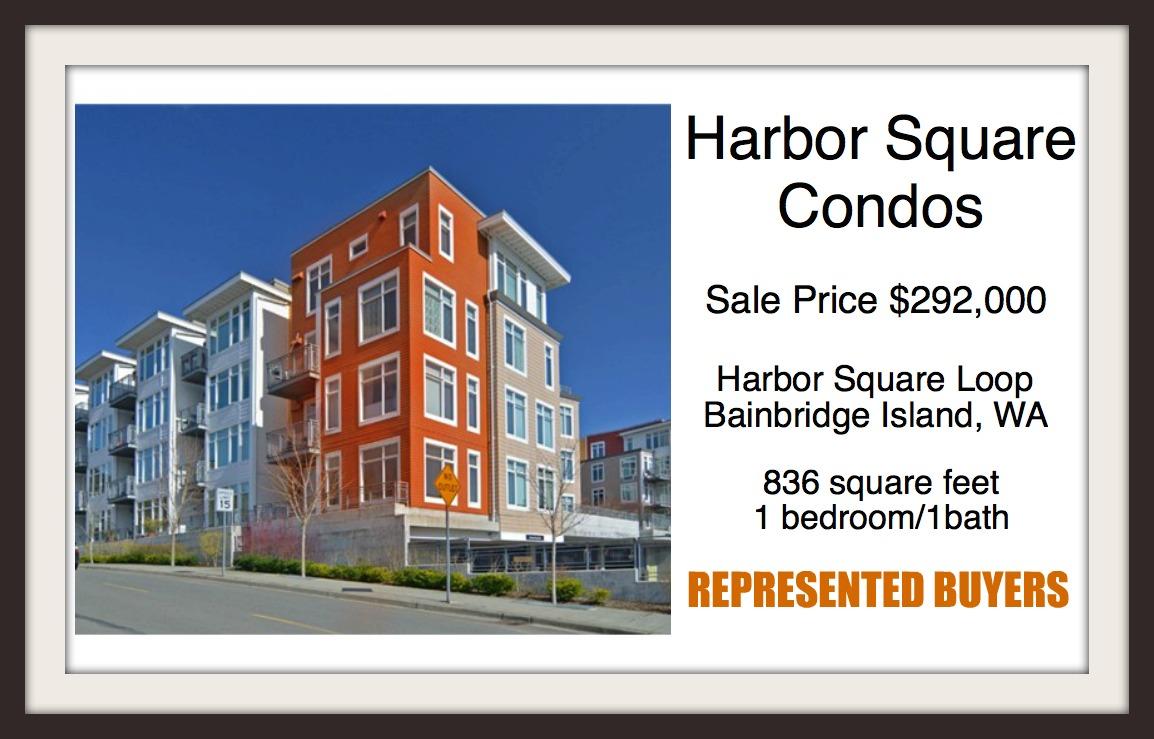 Harbor Square sold by Jen Pells Windermere Bainbridge
