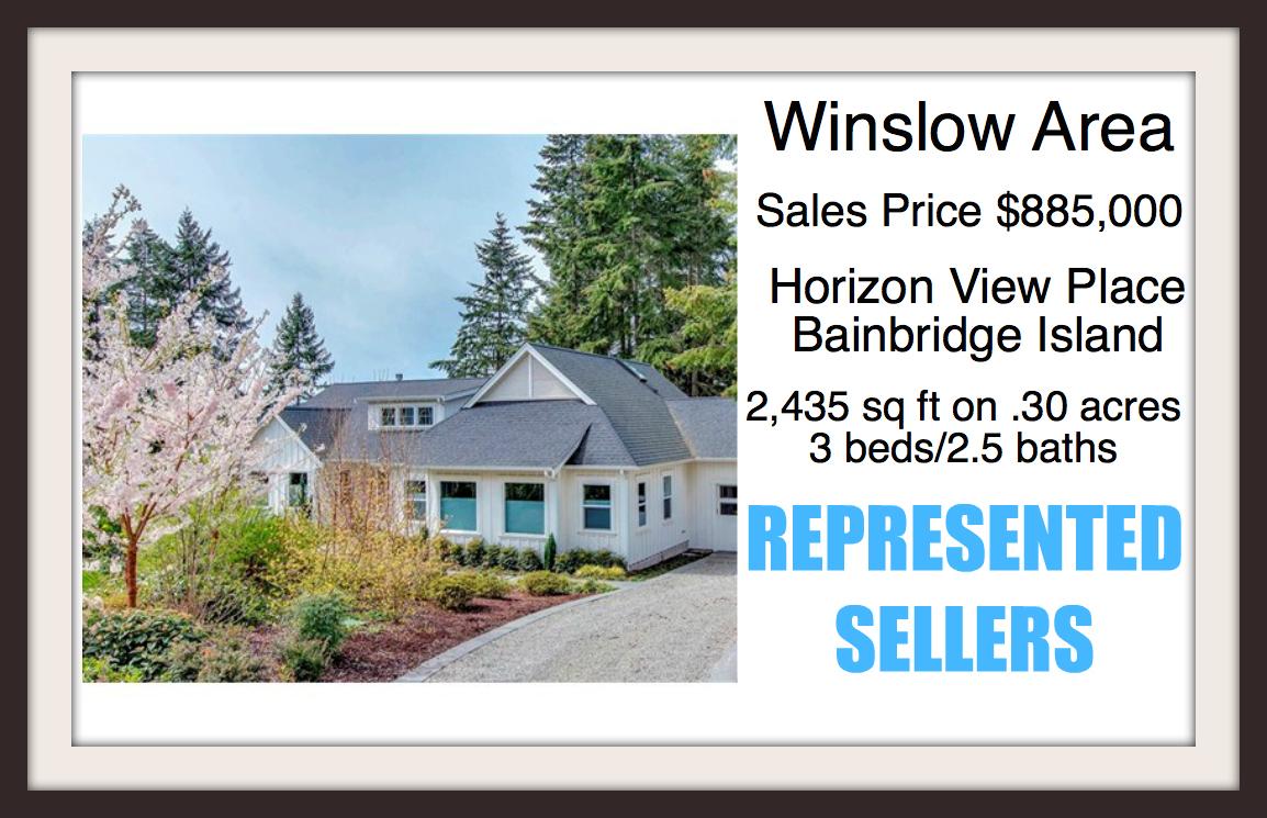 Horizon View on Bainbridge Island sold by Jen Pells Windermere Agent