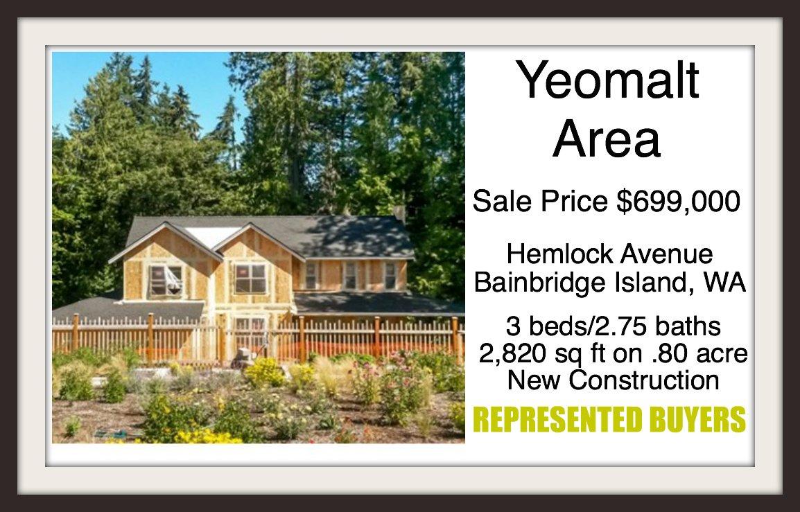 9372 Hemlock Ave on Bainbridge Island sold by Jen Pells