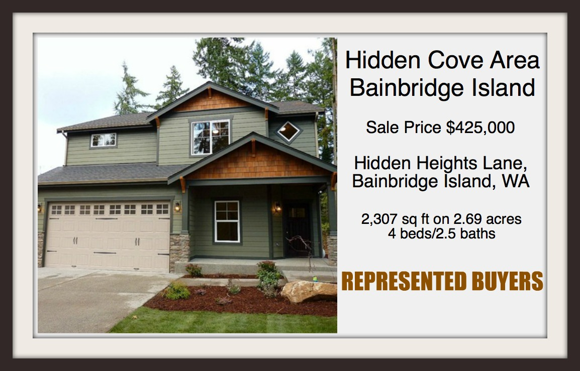 Hidden Heights Lane on Bainbridge Island sold by Jen Pells Windermere Agent