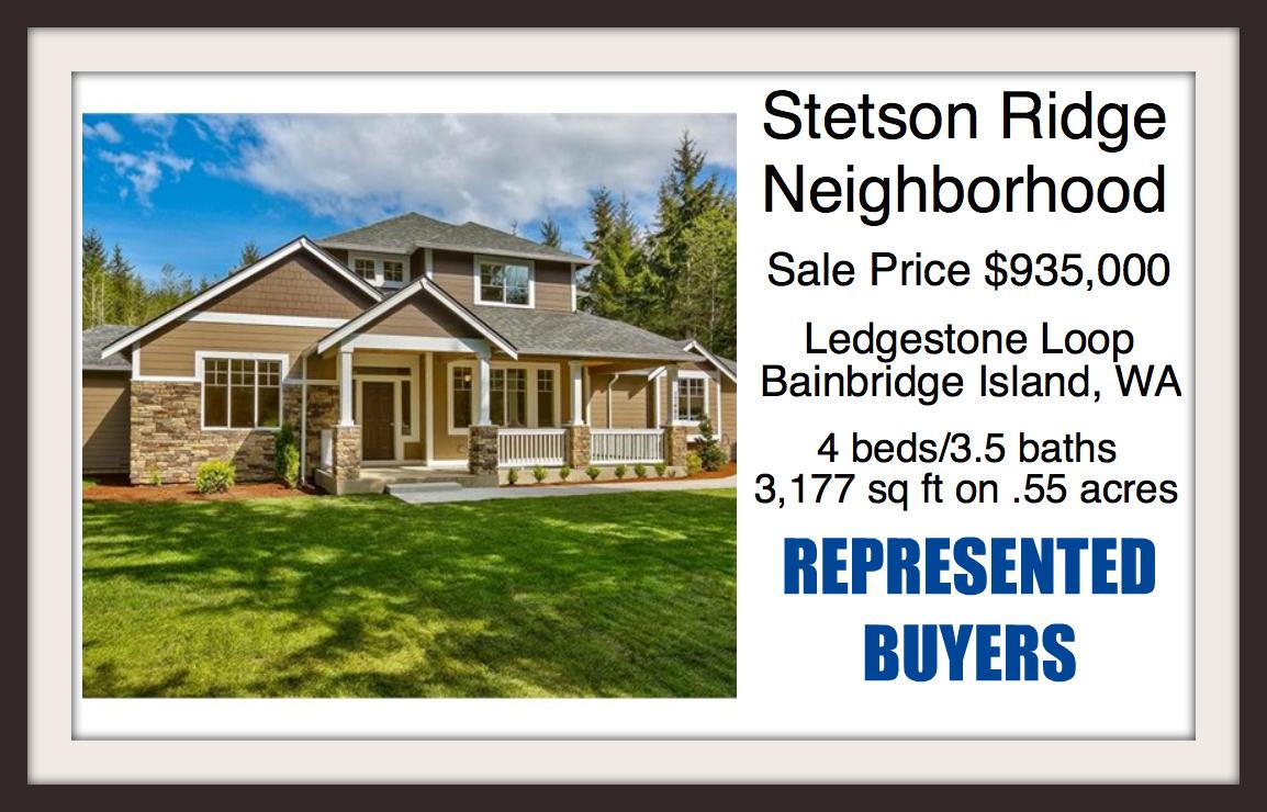 Home on Ledgestone Loop on Bainbridge Island sold by Jen Pells of Windermere Bainbridge