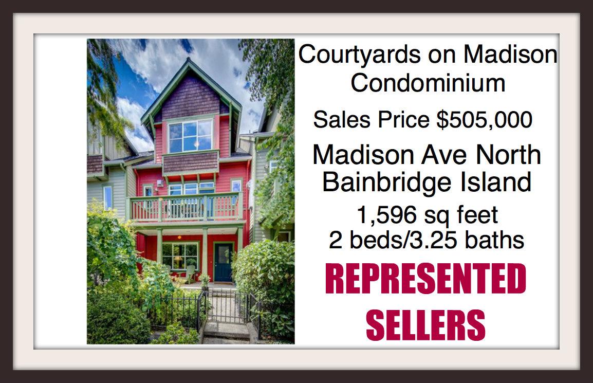 Courtyards on Madison Condo sold by Jen Pells of Windermere Bainbridge