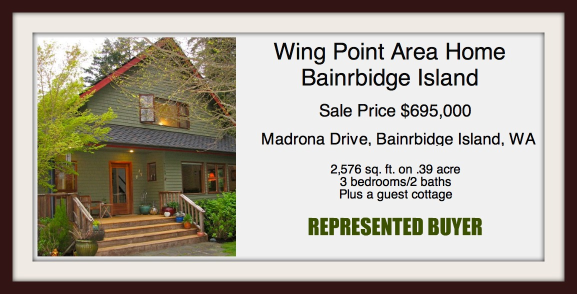 Madrona Drive Sold by Jen Pells