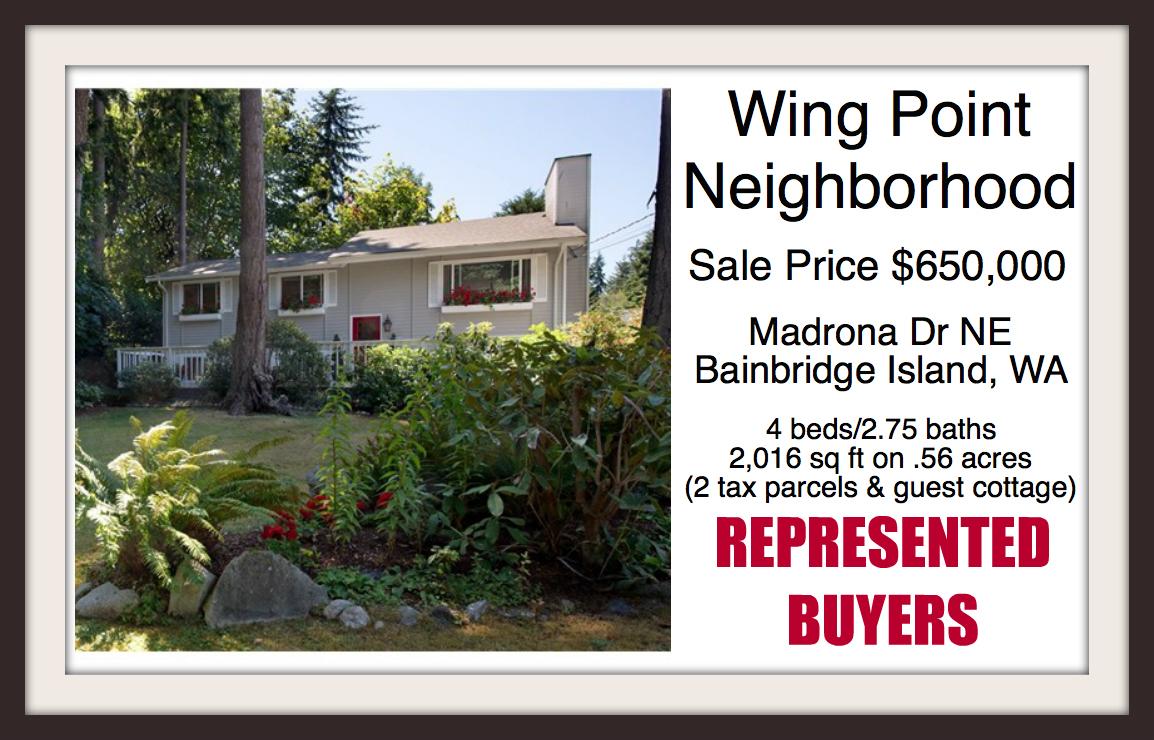 Wing Point Madrona Sale by Jen Pells Windermere Bainbridge