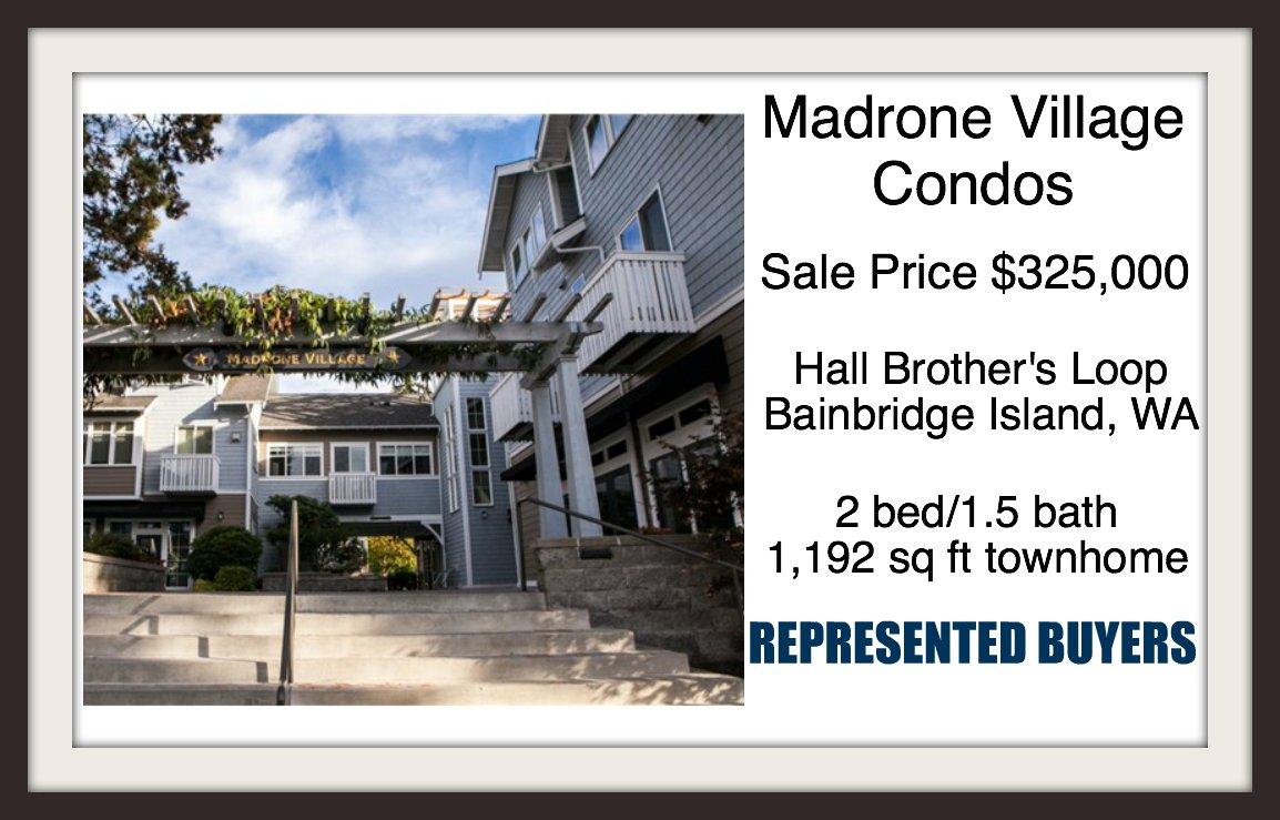 Madrone Village Condo on Bainbridge Island sold by Jen Pells