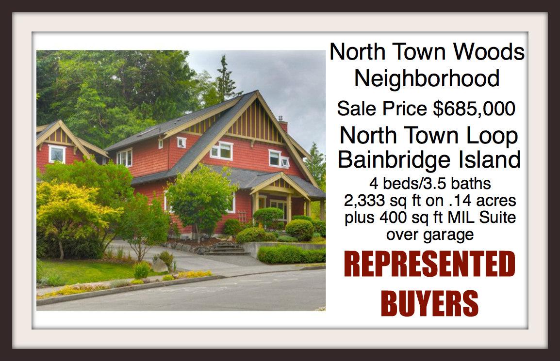Home in North Town Woods on Bainbridge Island Sold by Jen Pells Windermere Realtor