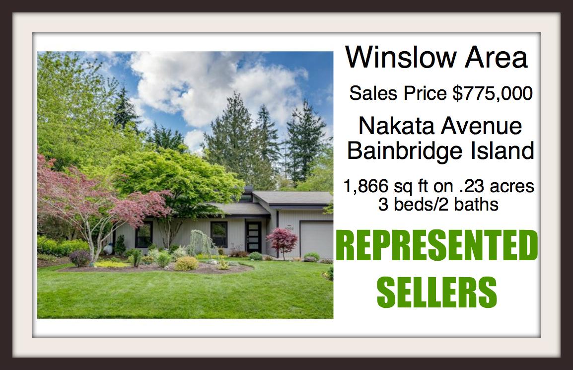 Nakata Ave on Bainbridge Island sold by Jen Pells Windermere Broker