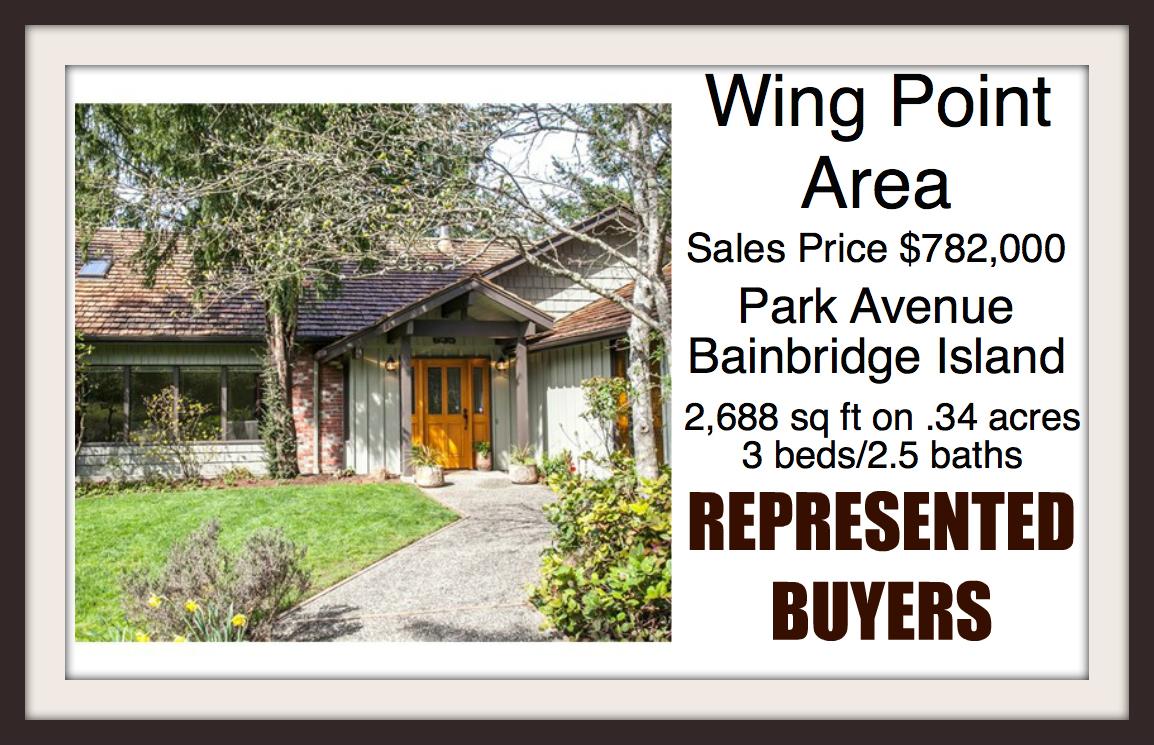 Park Ave on Bainbridge Island sold by Jen Pells Windermere Broker