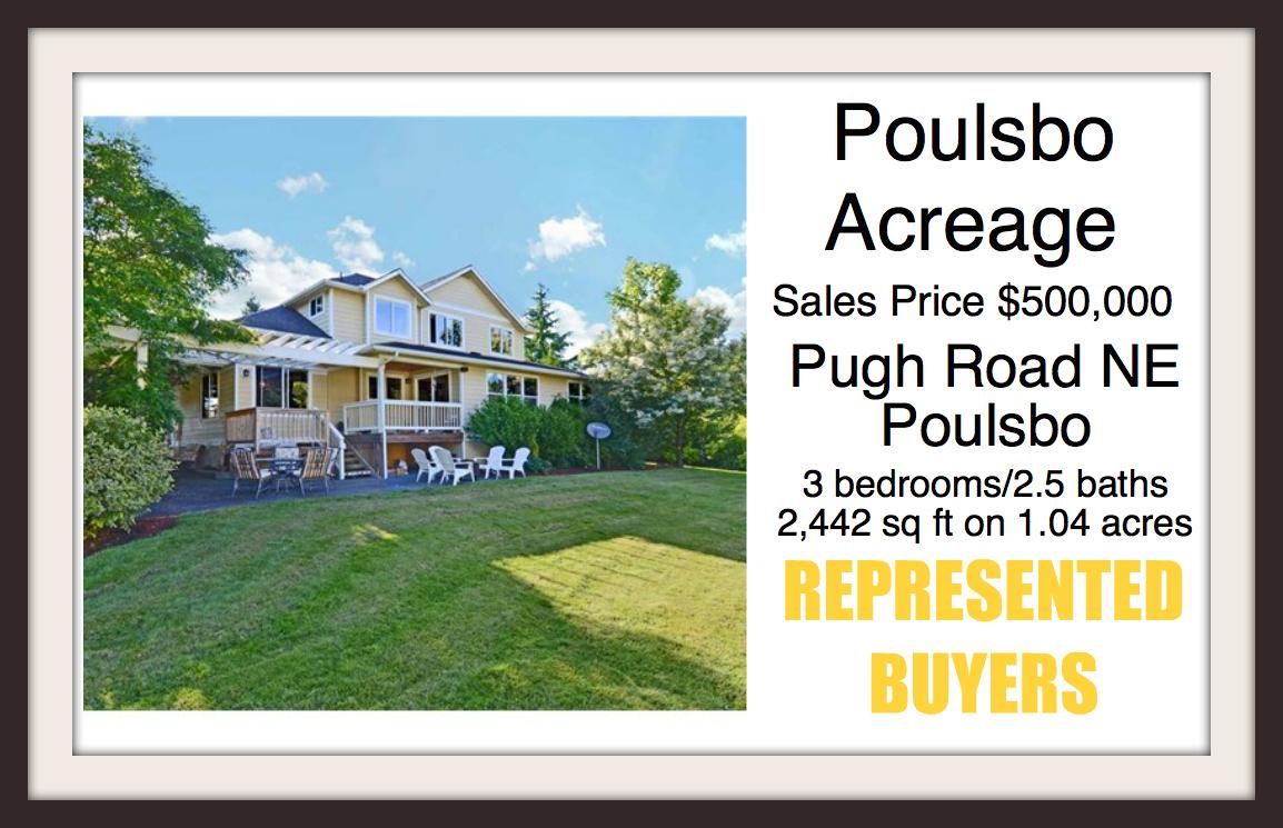 Pugh Road NE in Poulsbo sold by Jen Pells Real Estate