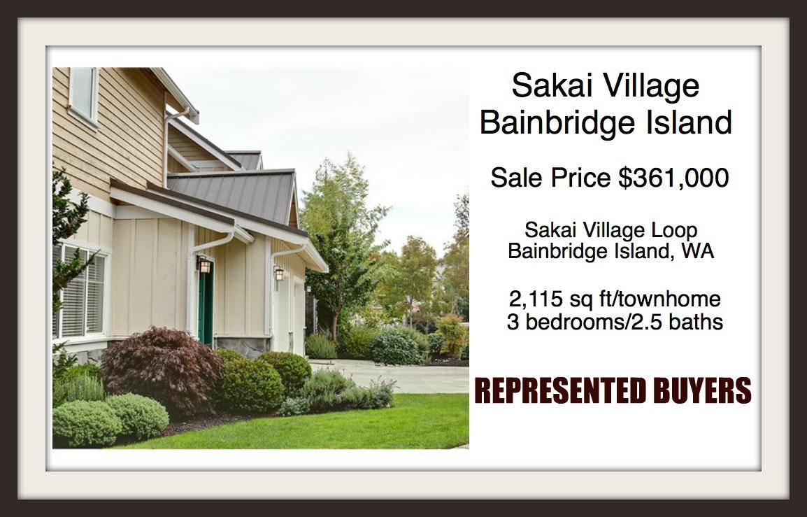 Sakai Village sold by Jen Pells | Bainbridge Island Realtor
