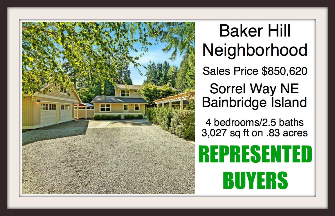 4485 Sorrel Way NE on Bainbridge Island sold by Jen Pells Real Estate