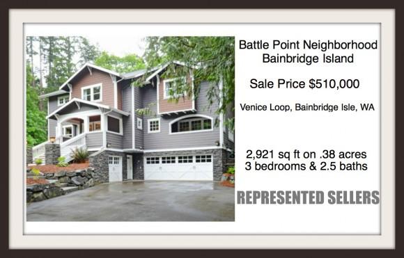 Venice Loop Home on Bainbridge Island sold by Jen Pells, Windermere Realtor