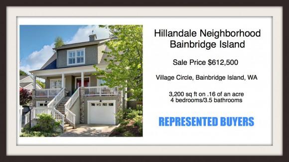 Village Circle on Bainbridge Island | Sold by Jen Pells