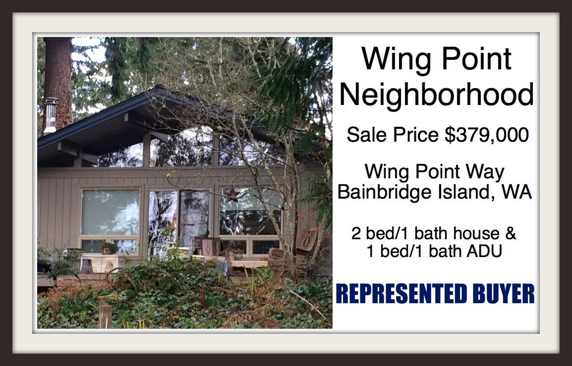 Wing Point Way on Bainbridge Island sold by Jen Pells