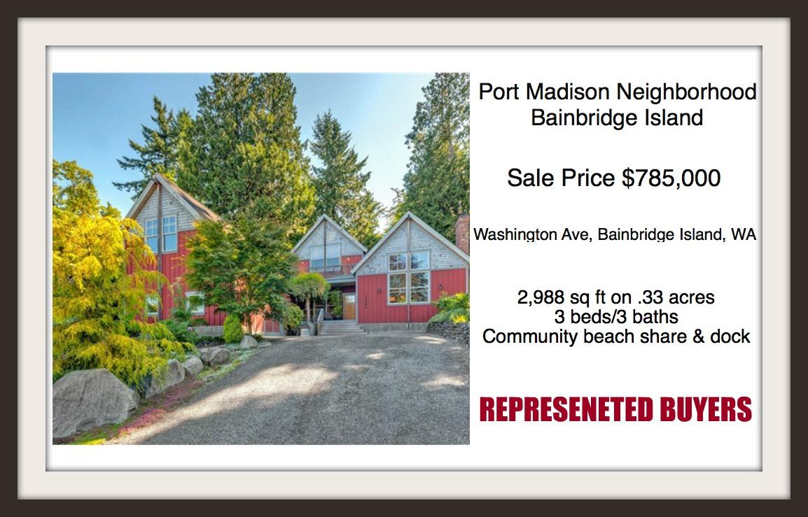 Washington Home on Bainbridge Island sold by Jen Pells, Realtor