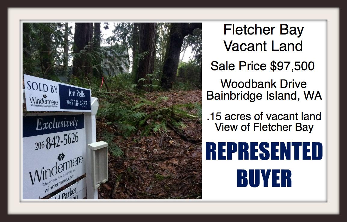 Woodbank land on Bainbridge Island sold by Jen Pells of Windermere Bainbridge