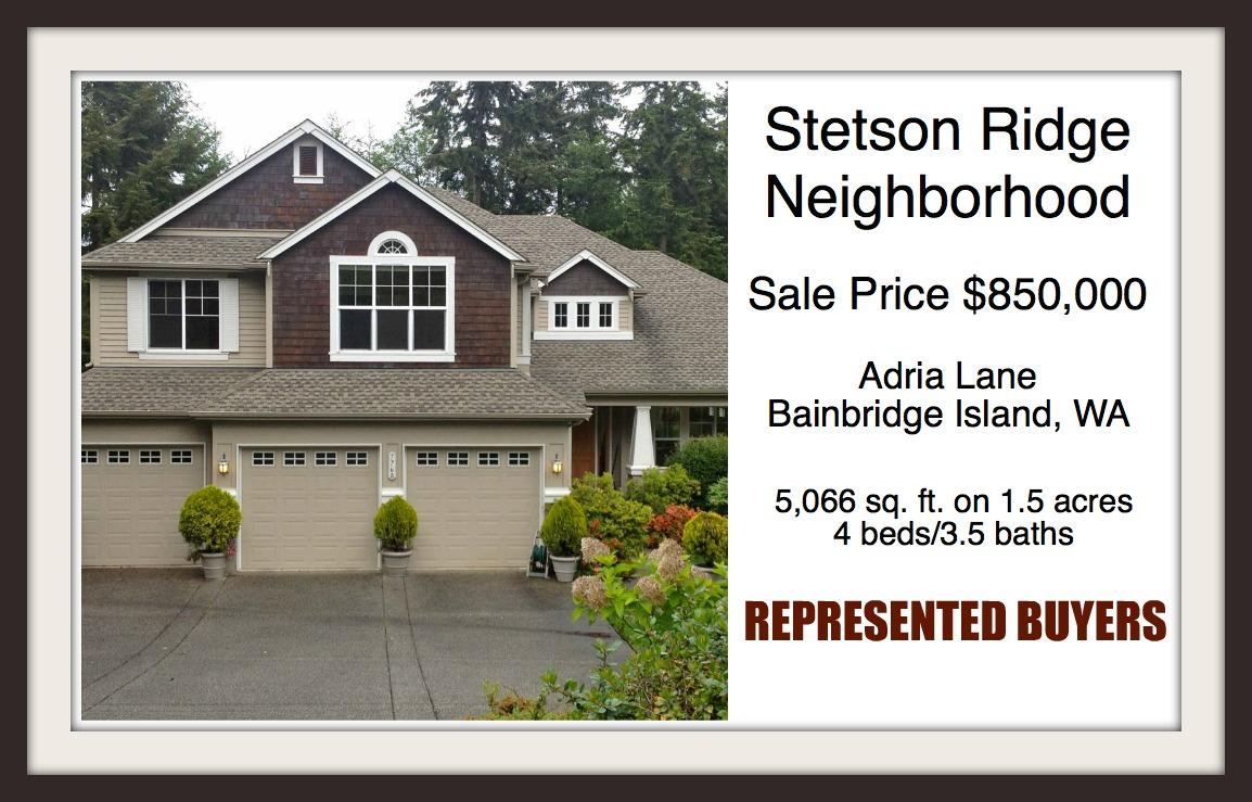 Stetson Ridge home on Bainbridge Island sold by Realtor Jen Pells