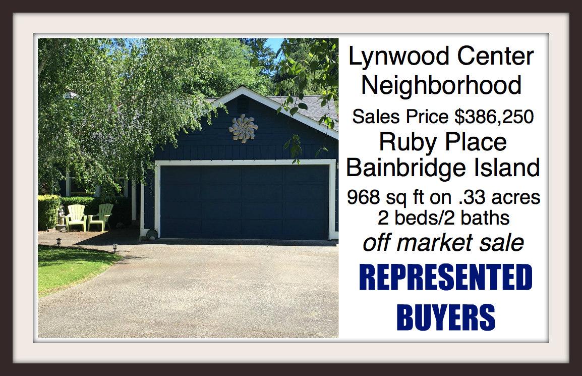 Ruby Place on Bainbridge Island sold by Jen Pells of Windermere