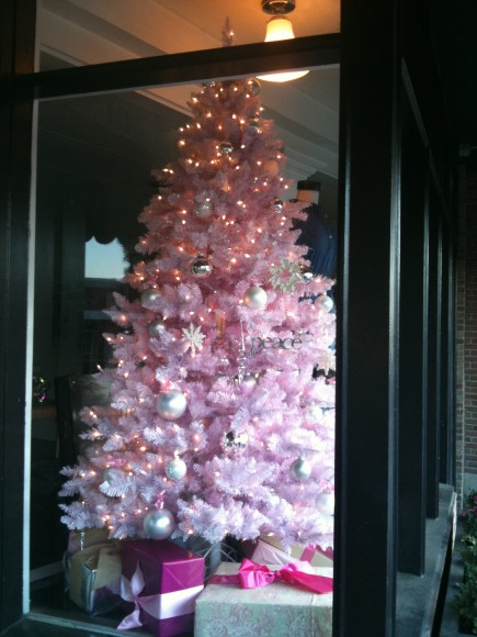 Holiday Sparkle on Winslow Way.