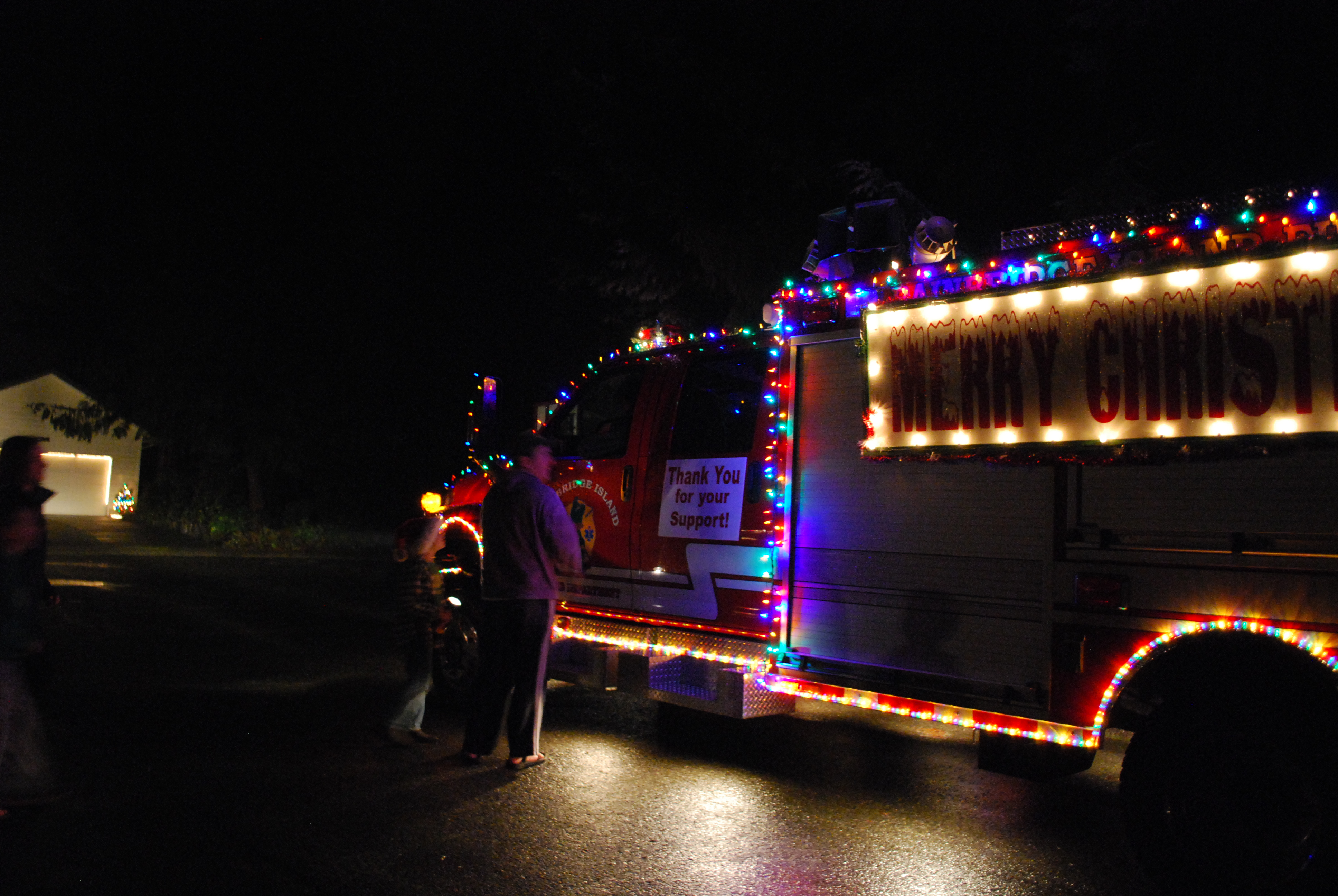 The Bainbridge Island Musical Fire Truck