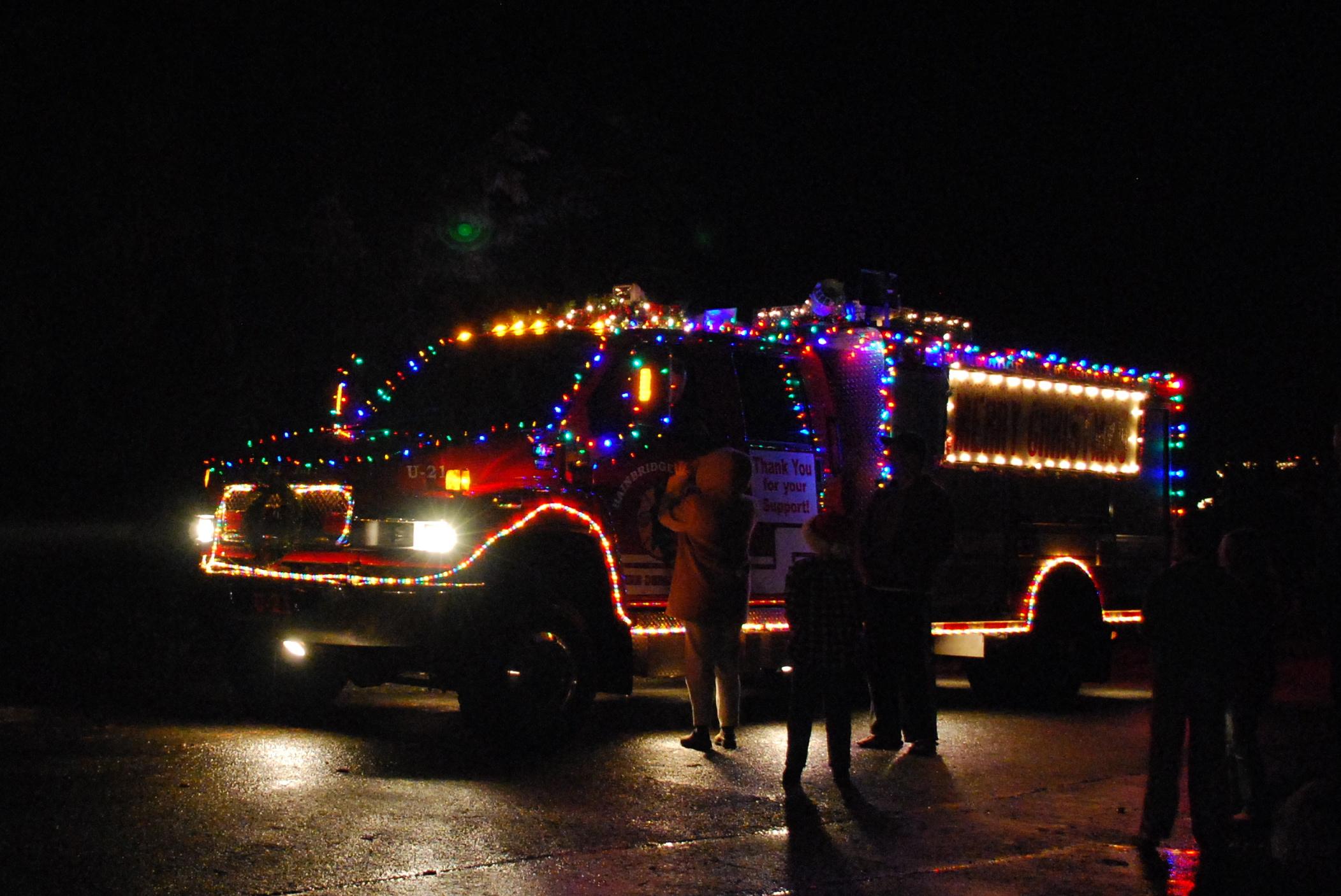 Musical Fire Truck Bainbridge Island | Jen Pells Realtor